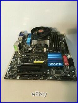 Gigabyte GA-Z77X-UD3H, Intel LGA 1155 (I5-3570K + 16gb memory optional) Mobo