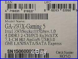 Gigabyte GA-Z97X-Gaming 5 ATX motherboard