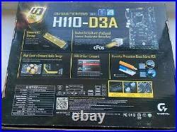 Gigabyte H110-D3A H110 Express LGA 1151 ATX Motherboard