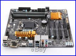 Gigabyte Intel Z97 Motherboard GA-Z97M-D3H LGA 1150, DDR3 mATX DVI HDMI USB3 4K