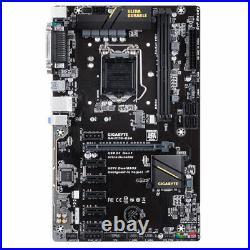 Gigabyte Motherboard GA-H110-D3A, LGA 1151, Intel H110 6 PCIE MINING BITCOIN BTC