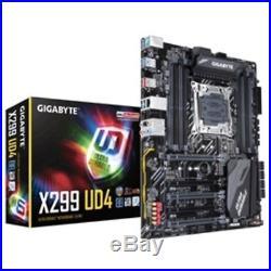 Gigabyte Motherboard X299 UD4 X series S2066 X299 DDR4 Max. 128GB PCI Express SAT