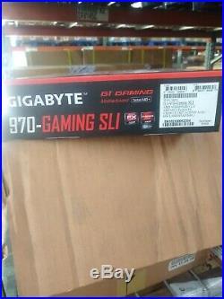 Gigabyte Ultra Durable GA-970-Gaming Desktop Motherboard AM3+ Brand New
