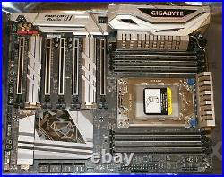Gigabyte X399 DESIGNARE EX motherboard AMD TR4 Socket Threadripper CPU support