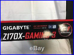Gigabyte Z170X-Gaming 3, 4 DDR4 2-CH/PCI-Ex 16/ATX USB3.1/GbE LAN/SATA Espress
