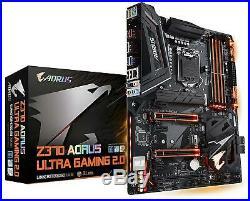 Gigabyte Z370 AORUS Ultra Gaming 2.0 Intel LGA1151/ ATX/ 2xM. 2/ Front USB 3.1