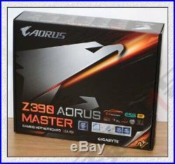 Gigabyte Z390 AORUS MASTER Intel LGA 1151 Z390 ATX M. 2 Motherboard