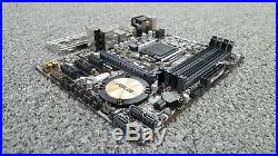 H97M-E Asus LGA 1150 DDR3 USB 3.0 HDMI VGA DVI-D M-ATX Motherboard + I/O Shield
