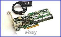HP Smart Array P222 512MB Cache SATA / SAS Controller RAID 6G PCIe x8 3.0 FBWC