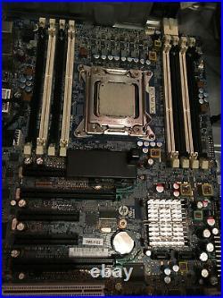 HP z620 Motherboard LGA2011 + Intel Xeon E5-2640@2.50 GHz