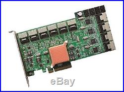 HighPoint Rocket 750 40-Channel SATA 6Gbps PCI-Express 2.0 x 8 HBA 750