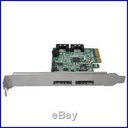 HighPoint RocketRAID 642L 2 SATA 6Gb/s and 2 eSATA 6Gb/s Ports PCI-Express 2.0 x