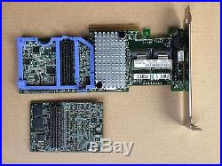 IBM M5110 8-Port RAID5 6Gbps PCI-e SAS/SATA 90Y4449 512M cache Controller RAID