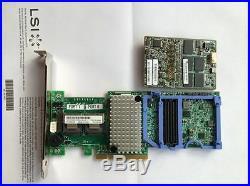 IBM ServeRaid M5110 8-Port 6Gbps PCI-e SAS/SATA 1GB cache RAID Controller RAID