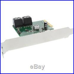 Inline INLINE Schnittstellenkarte PCI-Express 2.0 4 x SATA 6.0 GB/s NEW