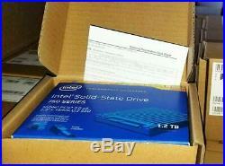 Intel 750 Series 2.5 SSD 1.2TB NVME MLC PCI-E 3.0 x4 SSDPE2MW012T4X1 1.2T 2.5
