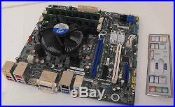 Intel DQ77MK LGA1155 Motherboard, I5 3570 QUAD @ 3.8GHz, 8GB DDR3, USB 3.0