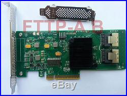 Intel SAS2008-8i (9211-8i) 6Gbps 8 Ports HBA PCI-E SATA SAS RAID Controller Card