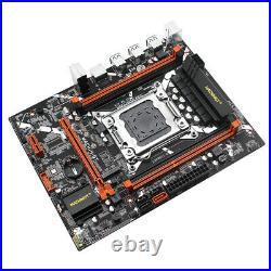 Intel X79 LGA 2011 Motherboard PCI-E NVME M. 2 SSD DDR3 REG ECC RAM Xeon E5 V1 V2