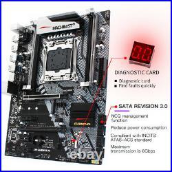 Intel X99 Motherboard LGA 2011-3 ATX PCI-E DDR3 USB3.0 SATA3.0 M. 2 NVME SDD