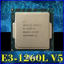 Intel Xeon E3-1260L v5 2.9GHz LGA 1151 SR2LH 45W 4-Core 8M Serve CPU Processor