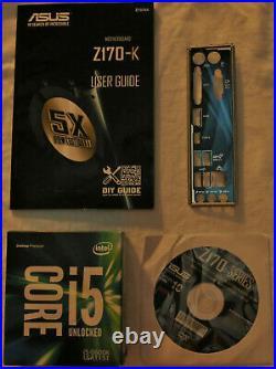 Intel i5-6600K & Asus Z170-K Motherboard