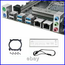 JGINYUE X99-D8 Server Motherboard LGA 2011-3 Dual CPU DDR4 X99 SATA 6Gb/s E-ATX