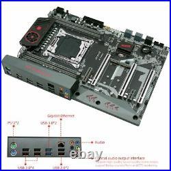 JGINYUE X99 TITANIUM D4 Motherboard LGA 2011-3 DDR4 NVME M. 2 SATA 6Gb/s USB3 ATX