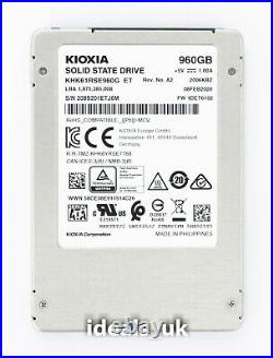KIOXIA Toshiba 960GB SSD 2.5 SATA (KHK61RSE960G) Enterprise Solid State Drive