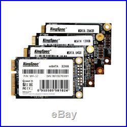KingSpec 512GB MSATA MINI PCI-E SSD Solid State Drive NAND Flash for Laptop