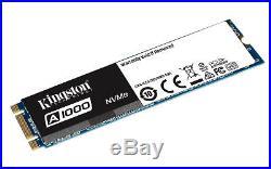 Kingston A1000 SA1000M8/480G 480 GB internal M. 2 2280 PCI Express 3.0 x2
