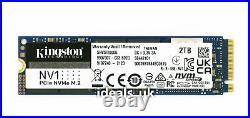 Kingston NV1 Series 2TB M. 2 (PCIe 3.0 x4) (SNVS/2000G) NVMe Solid State Drive