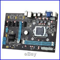 LGA 1150 6 GPU Motherboard PCI-E Extender Riser Card for Bitcoin Mining Rig S4K8