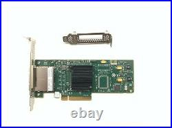 LSI 9200-8e 6Gbps 8-lane external SAS HBA IT Mode ZFS FreeNAS unRAID NoROM