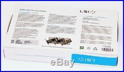 LSI 9201-16e LSI00276 H5-25379-00 6Gb/s 16-Port PCI-E 2.0 x8 SAS/SATA Controller