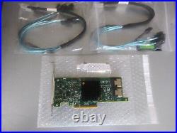 LSI 9207-8i (HP 9205-8i) with2 CABLES IT MODE PCI-E 3.0 SAS2308 ZFS UNRAID TRUENAS