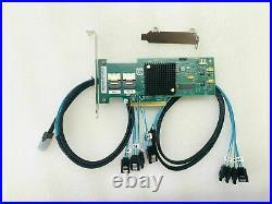 LSI 9210-8i 6Gbps SAS HBA FWP20 9211-8i IT Mode ZFS FreeNAS unRAID 2 SATA