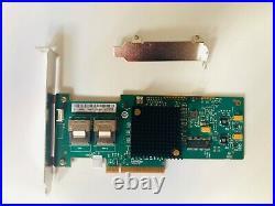 LSI 9210-8i 6Gbps SAS HBA FWP20 9211-8i IT Mode ZFS FreeNAS unRAID 2 SFF SATA