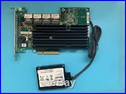 LSI 9260-16i LSI00208 SAS SATA 6Gb/s PCIe x8 16-Port RAID Controller + Battery