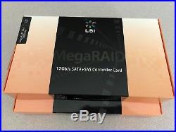 LSI 9380 MegaRAID SAS 9380-8e (LSI00438) PCI-Express 3.0 RAID CARD