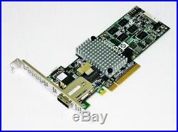 LSI 9750-4i4e LSI00242 L5-25305-04 Int. /Ext. 4 Ports 6Gb/s PCI-E 2.0 x8 SAS HBA