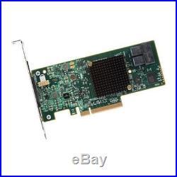 LSI Logic MegaRAID 9341-8i Single 8Port SATA/SAS PCI-E3.0 12Gb/s Controller Card