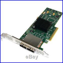 LSI Logic SAS9200-8E SFF-8088 8-Ports 6GB SATA+SAS PCI-E 2.0 LSI00188