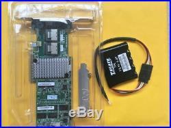 LSI MR SAS 9270CV-8i 6Gbps SAS/SATA RAID + Battery LSI49571-03=9271-8I