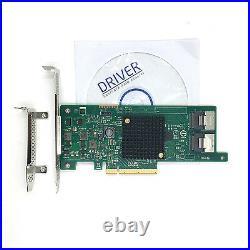 LSI SAS 9207-8i 6Gb/s PCI-E 3.0 LSI00301 IT Mode SATA SAS RAID Controller Card