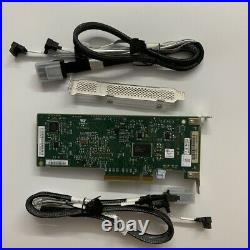 LSI SAS2008-8I SATA 9211-8i 6Gbps 8 Ports HBA PCI-E RAID Card+2 8087 SATA cable