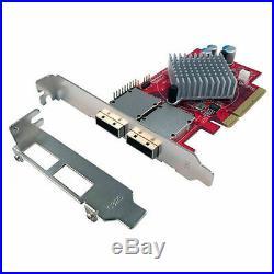 Lycom PE-118E 6G SATA III 8-Port External SATA/SAS SFF-8088 PCI card