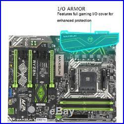 MAXSUN AMD B350 AM4 ATX Desktop Motherboard 3PCI-E 4SATAIII 2M. 2 24+8pin R0E8