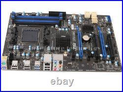 MSI 970A-G43 Motherboard MS-7693, Socket AM3+ AMD 970 Chipset, DDR3 Memory