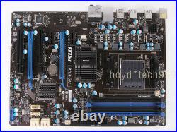 MSI 970A-G43 Motherboard Socket AM3/AM3+ AMD 970 ATX DDR3 USB3.0 SATA tested